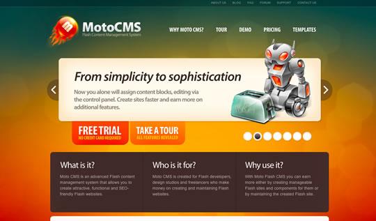 Exemple de slideshow: Motocms.com