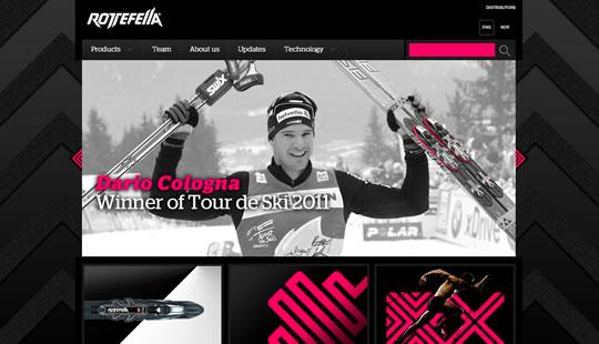 Exemple de slideshow: Rottefella.com
