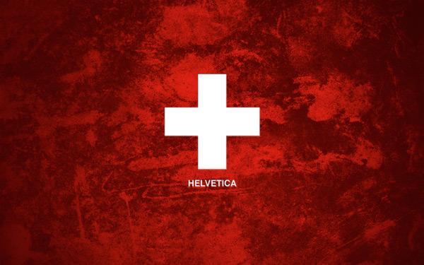 Helvetica Grunge by Oliver Wilke