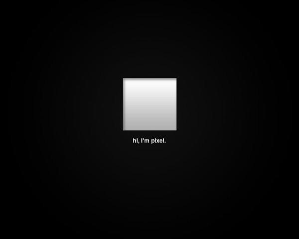 He's A Pixel by Vladislav Perge