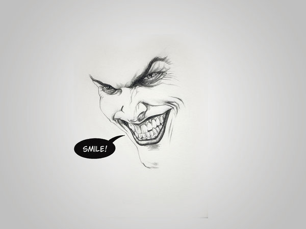 Minimal Joker by Andre Garrido