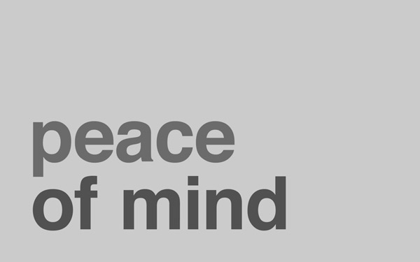 Peace of Mind Minimal Wallpaper by RMNMD