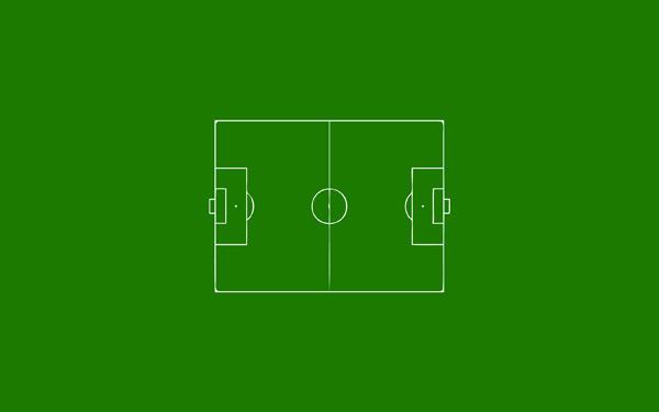 Soccer Field by Sondre Stensbol