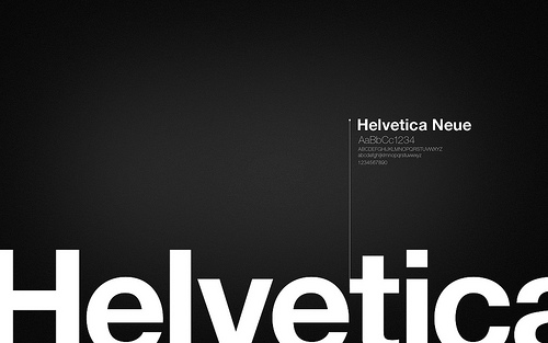 Fond d'écran typographie 10
