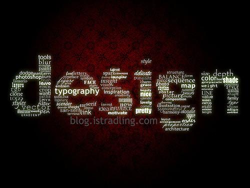 Fond d'écran typographie 13