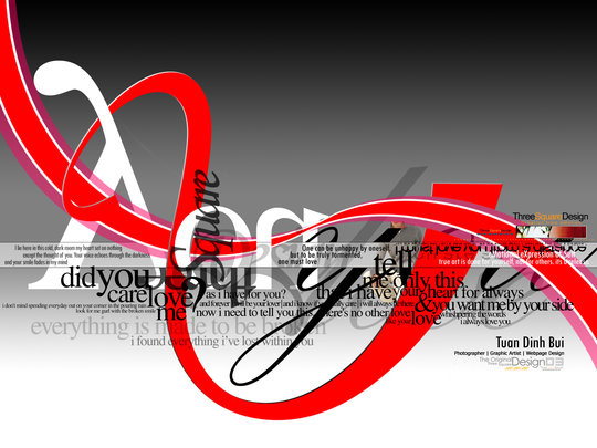 Fond d'écran pour les adeptes de typographies 13