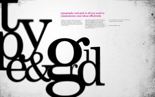 Fond d'écran pour les adeptes de typographies 31