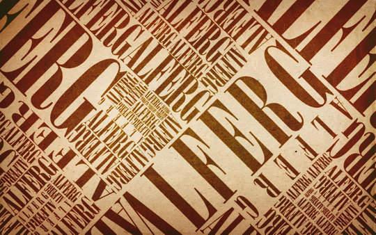 Fond d'écran pour les adeptes de typographies 36