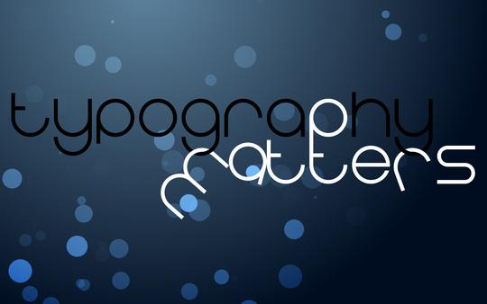 Fond d'écran pour les adeptes de typographies 47