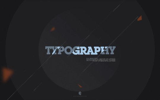 Fond d'écran pour les adeptes de typographies 50
