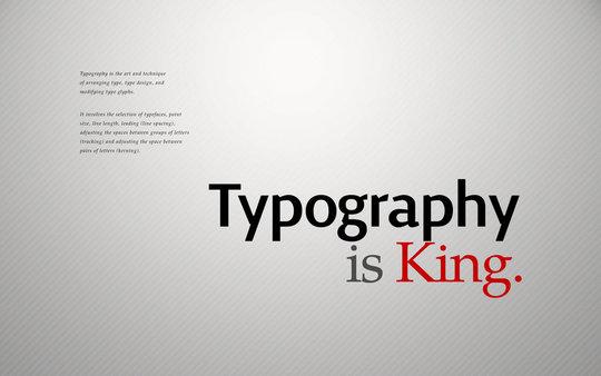 Fond d'écran pour les adeptes de typographies 49