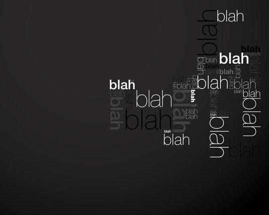 Fond d'écran typographie 6