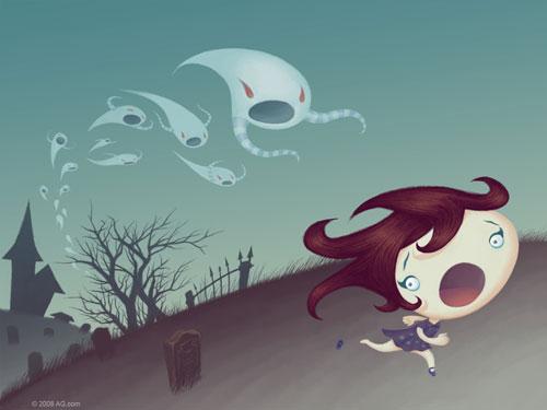 L'échapée des fantômes