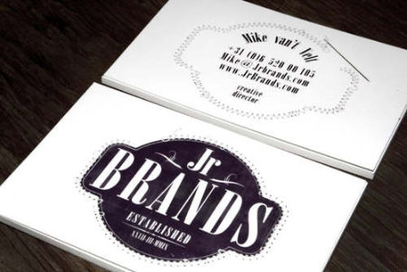 Cartes de visites de JR BRANDS