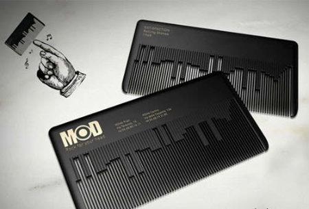 Cartes professionnelles pour MODhair