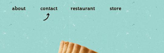 menu web