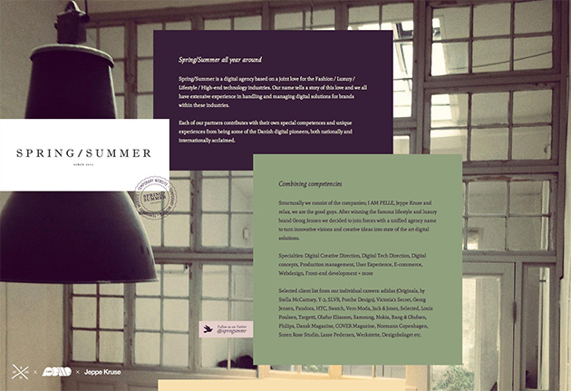 site jQuery Spring/Summer
