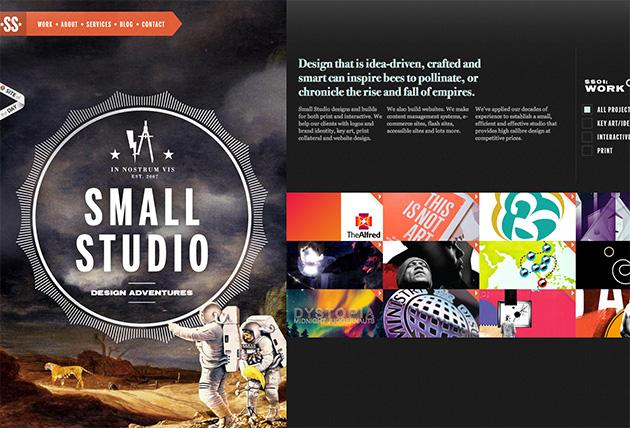 site jQuery Small Studio