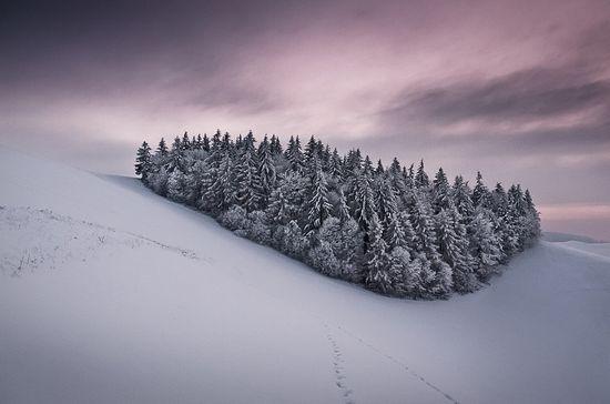 photographies de paysages d'hiver 47