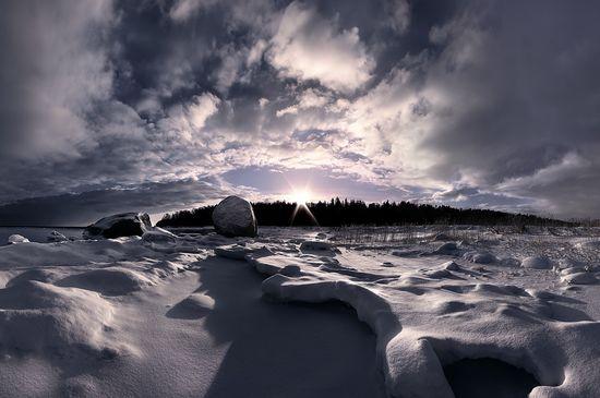 photographies de paysages d'hiver 73