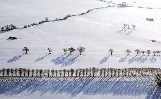 photographies de paysages d'hiver 94