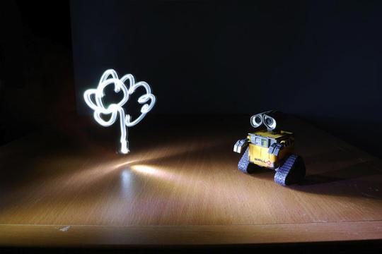 Light painting ou peinture de lumière - 15