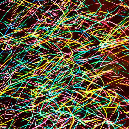 Light painting ou peinture de lumière - 3