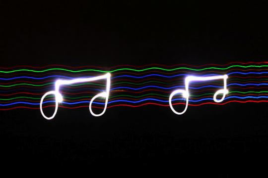 Light painting ou peinture de lumière - 6