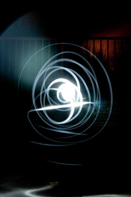 Light painting ou peinture de lumière - 64