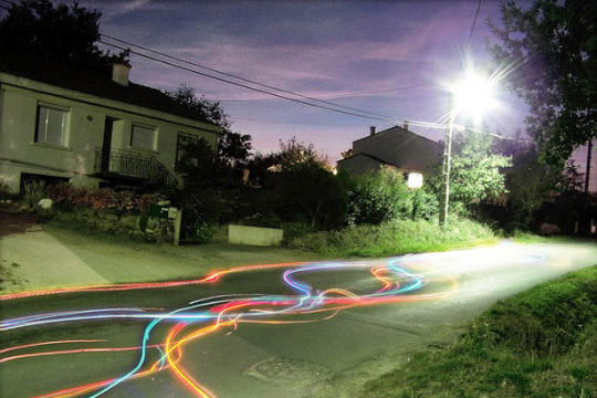 Light painting ou peinture de lumière - 73