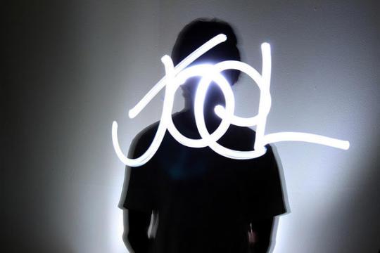 Light painting ou peinture de lumière - 76