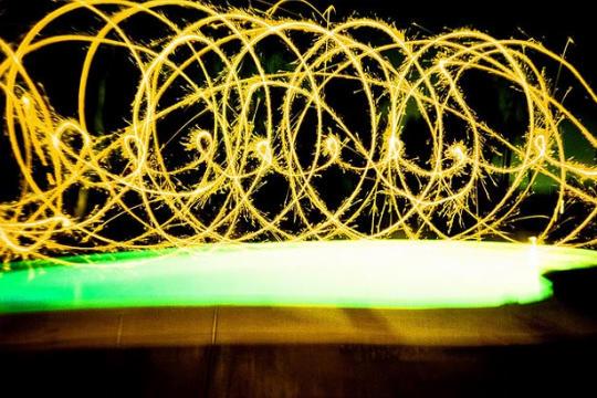 Light painting ou peinture de lumière - 87