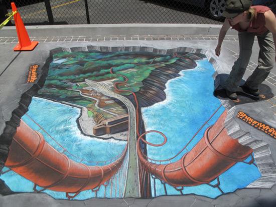 ShaunWhite Skateboard peinture de la rue 3D
