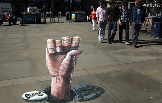 Heritage peinture de la rue 3D