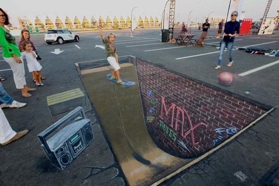 Max rules peinture de la rue 3D