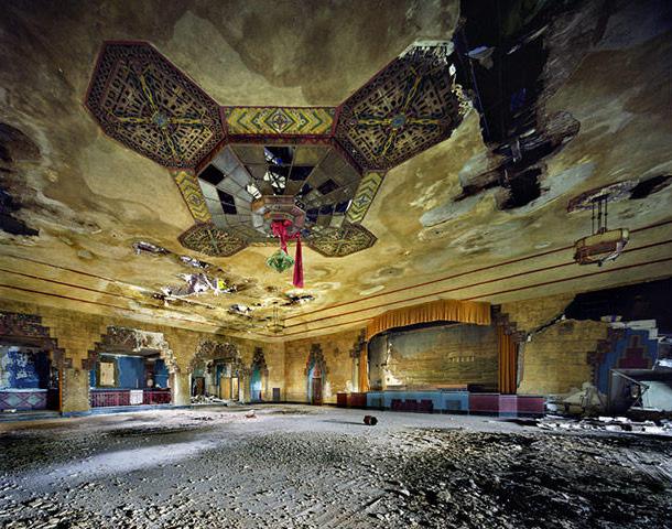 Photos artistiques de Détroit en ruine
