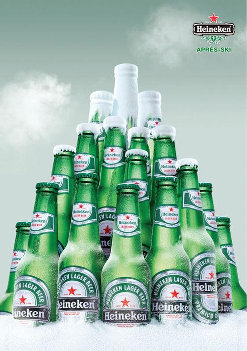 Publicité Heineken originale