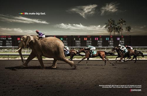 Big Fast — Concept de publicité original