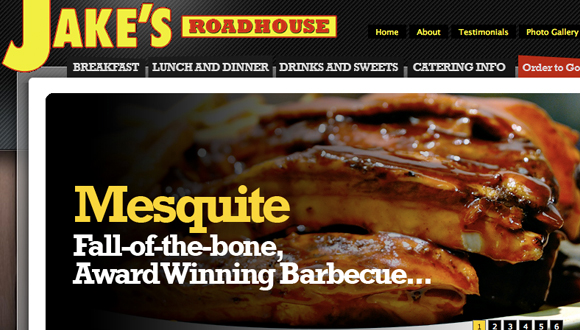 Inspiration site restaurant : Jake's Road House