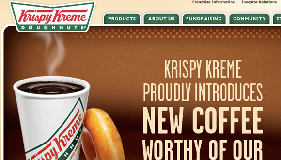 Inspiration site restaurant : Krispy Kreme