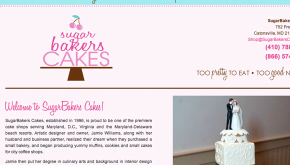 Inspiration site restaurant : SugarBakers Cakes