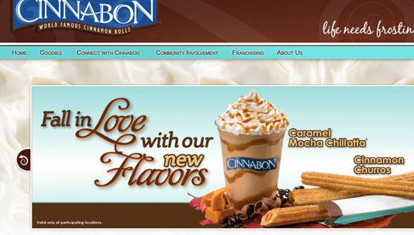 Inspiration site restaurant : Cinnabon