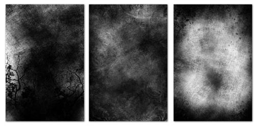 Paquet de textures noires