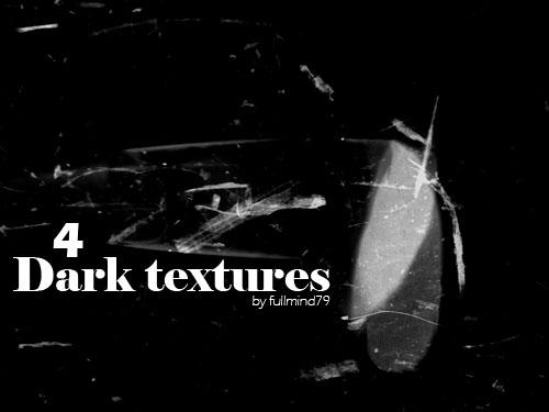 4 textures noires