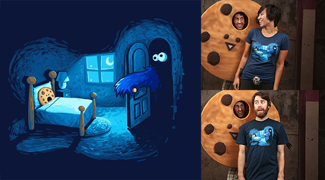 Chandail de cookie monster