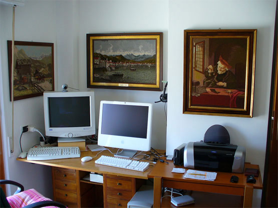 Stimulation visuelles bureau