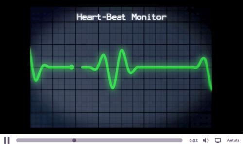 Créer un moniteur cardiaque suivant la musique