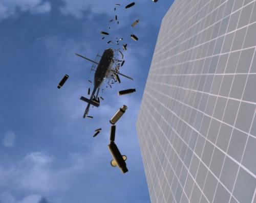 Recréez la scène de l'hélicoptère dans La Matrice (The Matrix)