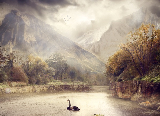 Photoshop : Une photomanipulation fantaisiste