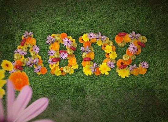 Photoshop : Produire facilement un effet floral sur du texte